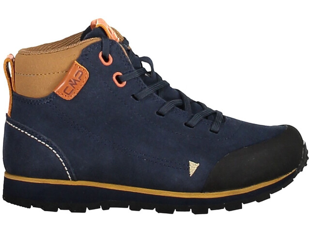 CMP Campagnolo Elettra Mid Hiking Shoes Juniors Black Blue